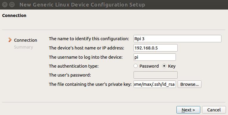 Qt Creator Cross Compiling Environment for Raspbian Stretch