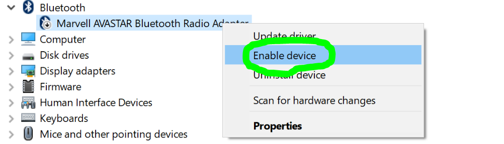 Enabling Bluetooth in VirtualBox